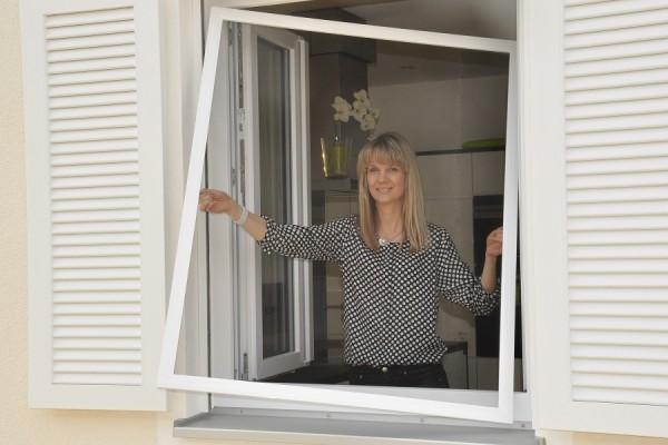 Insektengitter für Fenster bis 1300 x 1500 mm Bausatz