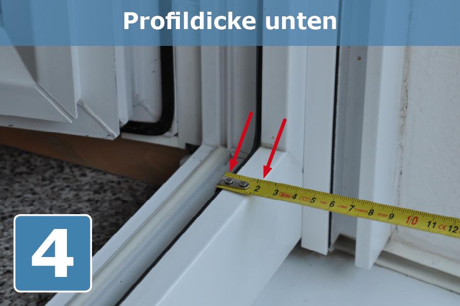 Profildicke_unten
